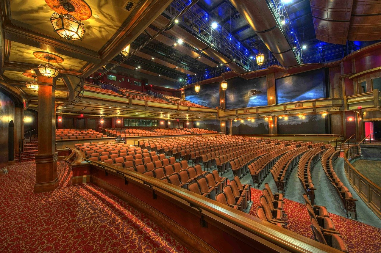 auditorium, theater, architecture