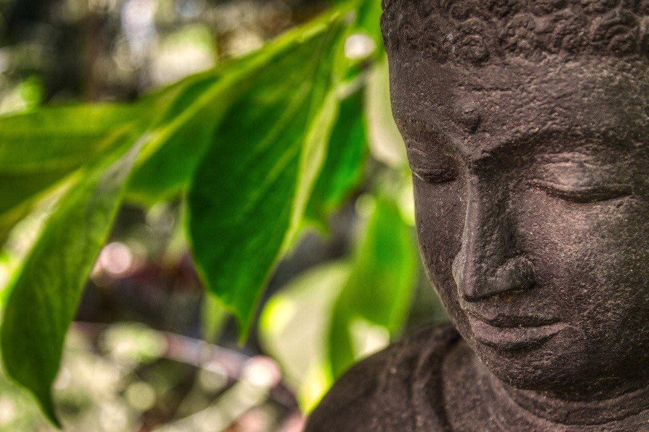 buddha, relaxation, art